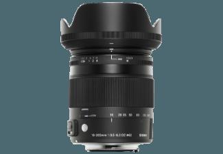 Produktbild SIGMA AF 18-200mm F3.5-6.3 DC Makro OS HSM [C] für Nikon 18 mm-200 mm Objektiv f/3.5-6.3 OS  IF
